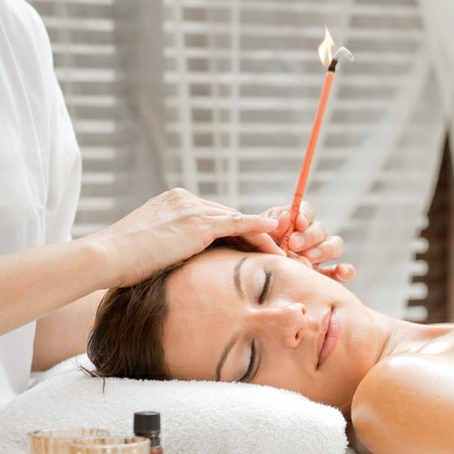 Hopi Ear Candle - With Lymphatic Drainage