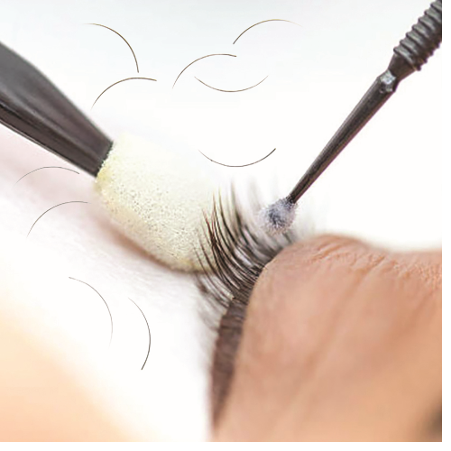 Lash extension removal (Mobile)