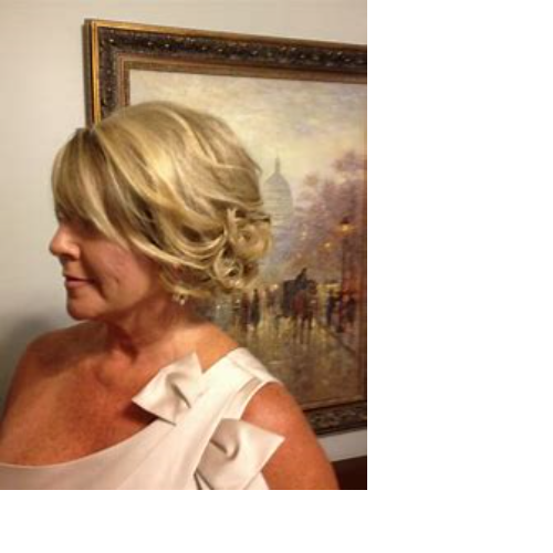 Mother of the Bride Hair Trial